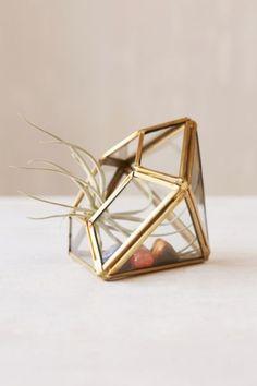 Mini terrarium géométrique