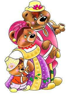 tubes ours 3 Bear Clipart, Adoption, Stationery, Clip Art, Children, Teddy Bears, Fictional Characters, Image, Graphics