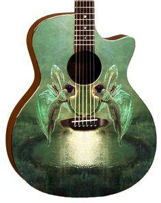 Luna Guitars - Gypsy Spirit of the Night
