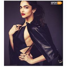 When gorgeous Deepika Padukone made the #jacket look hotter! <3  SHOP Jackets here- http://www.jabongworld.com/women/shopby/monte-carlo.html?dir=desc&order=created_at?utm_source=ViralCurryOrganic&utm_medium=FB&utm_campaign=MonteCarloWomen-05Jan
