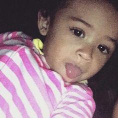 Royalty Brown Chris Brown daughter pretty girl