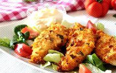 #croustillants #ingrédients #croustillant #lintérieur #lextérieur #pr... How To Cook Corn, Four, Cauliflower, Meat, Chicken, Vegetables, Cooking, Soft Food Recipes, Vegetable Salad