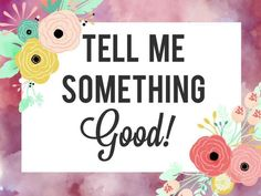 Tell me something good www.lularoejilldomme.com