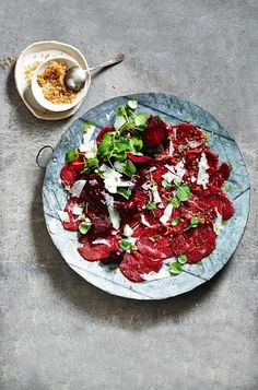 Beef Carpaccio with Beetroots, Pecorino & Worcestershire Salt | Food | MiNDFOOD