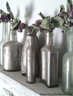 Silvered Bottles