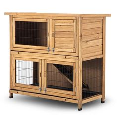 Shop for Lovupet Wooden Rabbit Hutch Chicken Coop Hen House Poultry Cage Waterproof Top. Get free delivery On EVERYTHING* Overstock - Your Online Small Animal Supplies Store! Guinea Pig House, Guinea Pigs, Poultry Cage, House Rabbit, Hen House, Pet Rabbit, Bunny Cages, Wooden Rabbit, Chicken Coop Plans