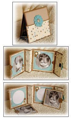 Jolie idée de mini en forme de sac...: http://mytherapymycreations.blogspot.co.nz/2010/09/silence-is-golden.html