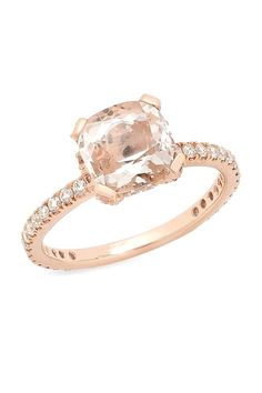 It seems rose gold isn't just becoming popular in our eye shadow palettes. Check out these 18 reasons to consider a rose gold engagement ring like this stunning Beverley K Engagement Ring!