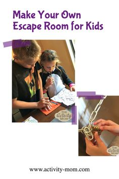 Escape Room at Home for Kids