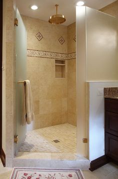 Master Bathroom Remodel - Like the shower tile on the walls and the floor