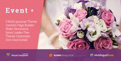 EventPlus v1.0 - Wedding WordPress Theme