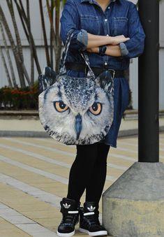 Owl-bag-shoulder-bag-pet-bag-animal-bag