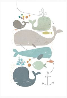 Lots and lots of happy whales!