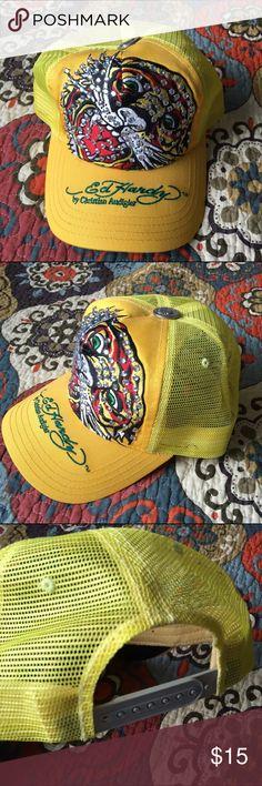 Ed Hardy baseball cap Never worn. Jeweled details Ed Hardy Accessories Hats