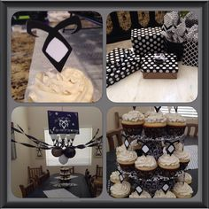 Shadowhunter Birthday Party Decor and Cupcakes. Jenna LOVED it! <---don't know who Jenna is, but apparently she loved it?