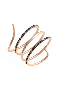 kismet by milka 'Lumiere' Diamond Coil Ring