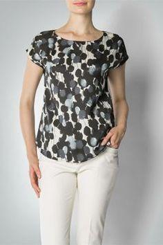 RENÉ LEZARD Damen Bluse Bluse im geraden Schnitt #modasto #giyim #moda https://modasto.com/ren-lezard/kadin/br32195ct2