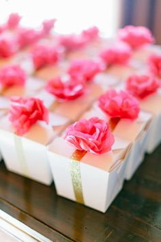 Make custom fortune cookies in Chinese takeout boxes for your guests.