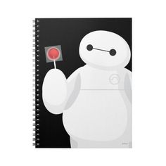 Big Hero 6 Lollipop Sign Spiral Note Books ($14) ❤ liked on Polyvore featuring disney, books, fillers, accessories and notebooks