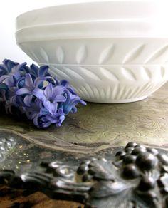 A Milk Glass Bowl.