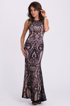 Long dress model 61266 YourNewStyle