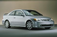 2001 Honda Civic EX Coupe - this picture was one of the reasons I bought a 2001 Civic - I had a flashback to the early 2Ks and this was one of the cars I thought about