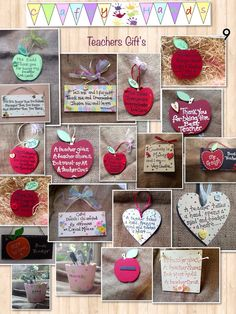 Teacher gifts welsh and English