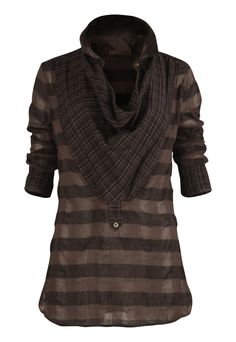 S-181 Nero Shirt in Charcoal $243.00 from Nicholas K