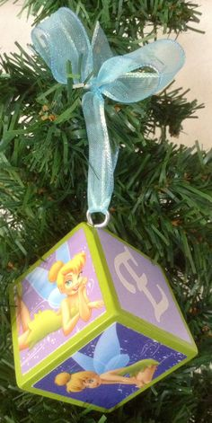 Tinkerbell Ornament by OllieBeez on Etsy