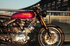 🏁 caferacerpasion.com 🏁 Yamaha XV 750 Virago #CafeRacer by Jean-Pierre [TAGS] #caferacerpasion #yamaha #caferacersofinstagram #caferacerxxx #caferacerporn #caferacergram