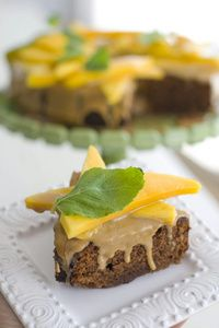 Good taste on a plate: Mexican Chocolate Honey Cake.