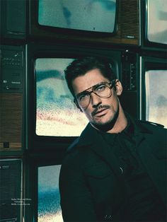 David Gandy is the Cover Star of L'Officiel Hommes Switzerland Spring 2017 Issue
