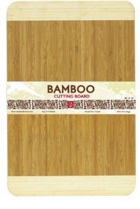 Bamboo Cutting Board 2-Tone 12 x 18 Inches by HDST. $24.15. Great size for everyday jobs. Dark Bamboo Center with Light Bamboo ends.