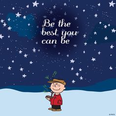 Be the best you can be ⭐️