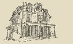 1911 historic gatehouse of the hyde estate in north for Second empire victorian house plans