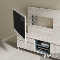 Tv Wall Shelves, Tv Wall Cabinets, Tv Rack Design, Feature Wall Living Room, Niche Design, Living Room Tv Unit Designs, Muebles Living, Home Office Setup, Bedroom Furniture Design