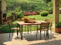 Mesas y sillas para jardín
