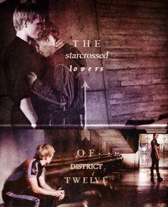 Katniss and Peeta <3