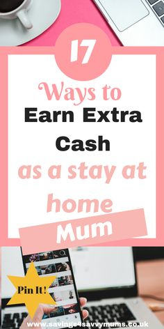 This is how to earn extra cash as a stay at home mum with no experience in the online world. Make money online with these legit ways around the kids. Earn Money From Home, Make Money Fast, Stay At Home, Make Money Online, Earn Extra Cash, Extra Money, Online Jobs, Online Careers, Online College