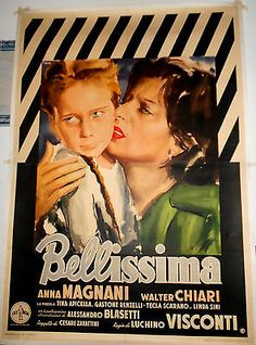 LUCHINO-VISCONTI-ANNA-MAGNANI-BELLISSIMA-MANIFESTO-ORIGINALE-1-EDIZIONE-1951