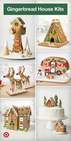 Cool Gingerbread Houses, Gingerbread House Designs, Gingerbread House Parties, Christmas Gingerbread House, Christmas Snacks, Christmas Activities, Christmas Goodies, Christmas Baking, Christmas Traditions