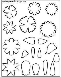 68 best Leaf & Petal Outlines images on Pinterest