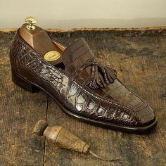 Vintage alligator shoes for men