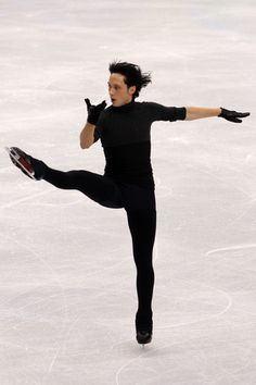 Johnny Weir, in Vancouver. ♥