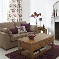 plum colored living rooms artwork room walls 34 best purple and brown images floral arrangement image result for interior paint design