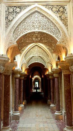 Montserrat Palace, Sintra, Portugal.