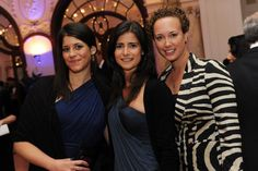 Girls night out - Amanda Crowley, Maria Delaguardia and Constanza Peuriot at Festival of Media 2012