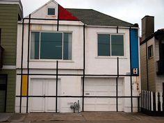 mondrian house