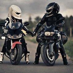 Predator helmets