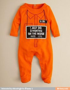 I wonder if I can talk my pregnant friends into buying this and doing a photo shoot with their newborns wearing it...